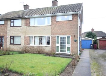 Thumbnail 3 bed semi-detached house for sale in Mill Lane, Whitwell, Worksop