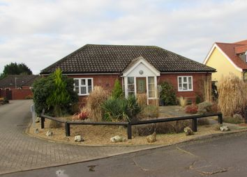 Thumbnail 3 bedroom detached bungalow for sale in Wattisfield, Diss