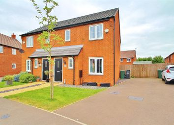 Thumbnail 3 bed semi-detached house for sale in Warren Way, Rothley, Leicestershire