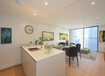 Thumbnail 1 bed flat for sale in Valiant Tower, South Quay Plaza