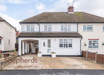 Thumbnail 4 bed semi-detached house for sale in Thele Avenue, Stanstead Abbotts, Hertfordshire