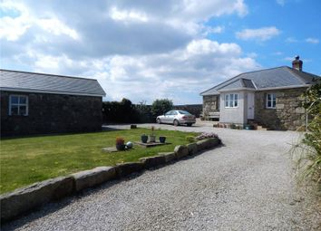Thumbnail 4 bed detached bungalow for sale in Higher Amalwidden, Towednack, St Ives