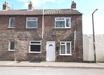 Thumbnail 1 bed terraced house to rent in Brigg Lane, Camblesforth, Selby