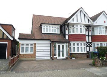 Thumbnail 5 bed semi-detached house to rent in The Ridgeway, Kenton