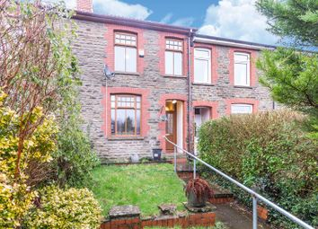 Thumbnail 2 bed terraced house for sale in West View, Rudry, Caerphilly