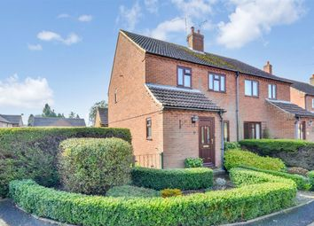 Thumbnail 3 bedroom semi-detached house for sale in Olivia Close, Fakenham