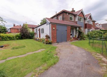 Thumbnail 3 bedroom semi-detached house for sale in Linney Road, Bramhall, Stockport