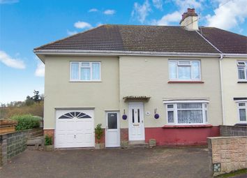 Thumbnail 4 bed semi-detached house for sale in Courtenay Drive, Colyton
