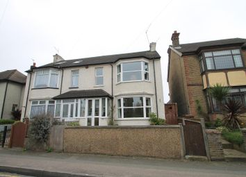 Thumbnail 3 bed semi-detached house for sale in Singlewell Road, Gravesend