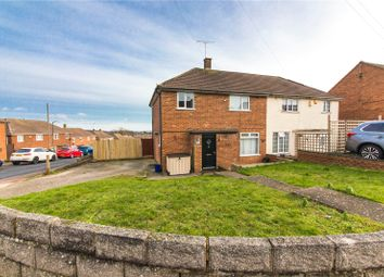 Thumbnail 3 bed semi-detached house for sale in Quixote Crescent, Rochester