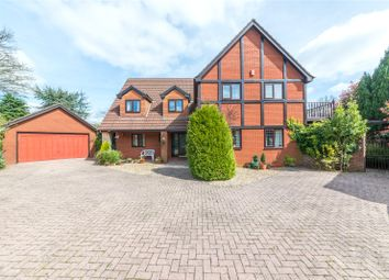 Thumbnail 5 bed detached house for sale in The Paddocks, Groesfaen