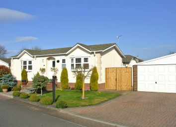 Thumbnail 2 bedroom mobile/park home for sale in The Willows, Acaster Malbis, York