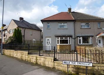 Thumbnail 2 bed semi-detached house for sale in Belle Vue Crescent, Sheepridge, Huddersfield