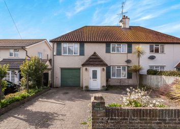 Thumbnail 4 bed semi-detached house for sale in Little Twitten, Bexhill-On-Sea