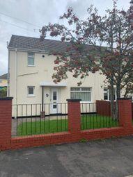Thumbnail 3 bedroom semi-detached house to rent in West View Crescent, Trelewis, Treharris