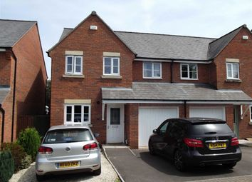 Thumbnail 4 bed semi-detached house for sale in Bells Place, Ross On Wye, Herefordshire