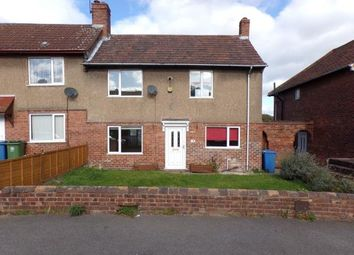 Thumbnail 3 bed end terrace house for sale in Laurel Avenue, Church Warsop, Mansfield, Nottinghamshire