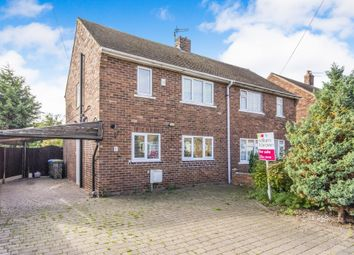 Thumbnail 2 bed semi-detached house for sale in Greenwood Avenue, Harworth, Doncaster