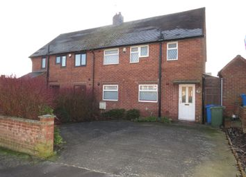 Thumbnail 3 bed semi-detached house for sale in Masefield Place, Worksop