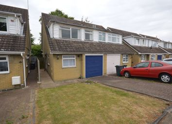 Thumbnail 3 bed semi-detached house for sale in Seaton Road, Luton