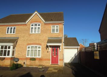 Thumbnail 3 bed end terrace house to rent in Windmill View, Biggleswade