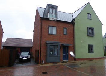 Thumbnail 4 bed semi-detached house for sale in Newdale Halt, Lawley Village, Telford
