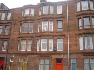 Thumbnail 2 bed flat to rent in Paisley Road West, 1Pz