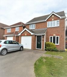 Thumbnail 3 bed detached house for sale in Burrows Close, Narborough, Leicester