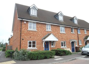 Thumbnail 4 bed end terrace house to rent in Juno Way, Wainscott, Kent