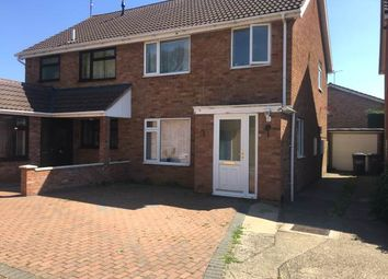 Thumbnail 3 bed property to rent in Juniper, Crescent, Peterborough
