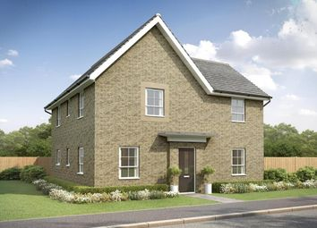 "Thumbnail 4 bedroom detached house for sale in ""Alderney"" at Stretton Road, Stretton, Warrington"