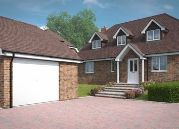 Thumbnail 4 bedroom detached house for sale in Ropley, Alresford, Hampshire