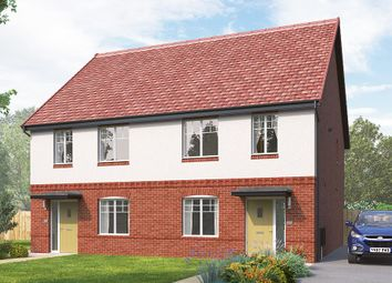 "Thumbnail 3 bed semi-detached house for sale in ""The Kilmington Semi"" at Skinner Street, Creswell, Worksop"