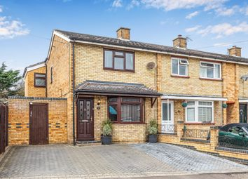 Thumbnail 3 bed end terrace house for sale in Hyde Avenue, Stotfold, Hitchin, Herts