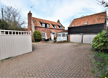 Thumbnail 4 bed detached house for sale in The Loke, Gresham, Norwich