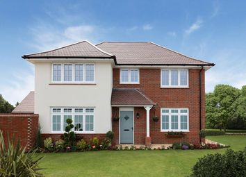 "Thumbnail 4 bedroom detached house for sale in ""Shaftesbury"" at Orwell Drive, Arborfield, Reading"