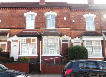 Thumbnail 3 bedroom terraced house for sale in Clarence Road, Handsworth, Birmingham