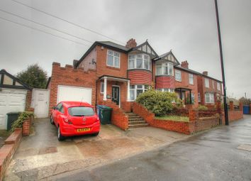 Thumbnail 3 bedroom semi-detached house for sale in West Road, Denton Burn, Newcastle Upon Tyne