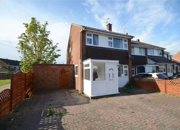 Thumbnail 3 bed end terrace house for sale in Cromwell Road, Saffron Walden, Essex