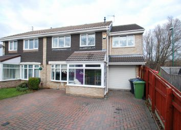 Thumbnail 4 bed semi-detached house for sale in Fennel Grove, South Shields