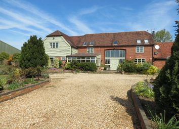 Thumbnail 4 bed barn conversion for sale in The Saltway, Feckenham