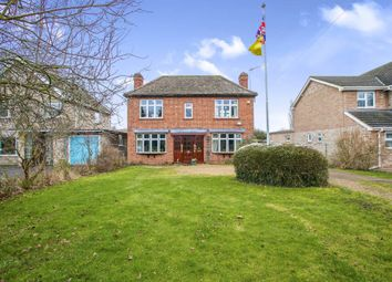 Thumbnail 4 bed detached house for sale in Bury Road, Bury, Huntingdon