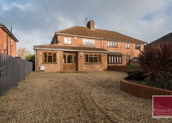 Thumbnail 5 bed semi-detached house for sale in Dereham Road, New Costessey, Norwich