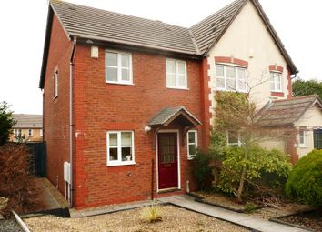 Thumbnail 2 bedroom semi-detached house to rent in 2 Dol Nant Dderwen, Broadlands, Bridgend.