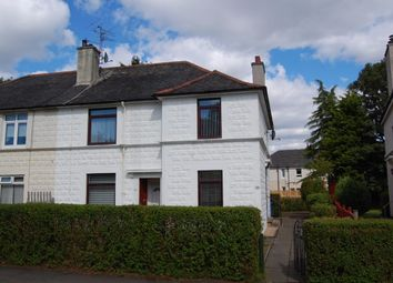 Thumbnail 2 bed flat to rent in Alness Crescent, Glasgow
