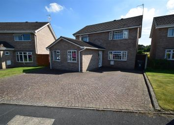Thumbnail 5 bed detached house for sale in Snowdrop Close, Shrewsbury