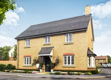 Thumbnail 4 bedroom detached house for sale in Fen Lane, Sawtry, Huntingdon
