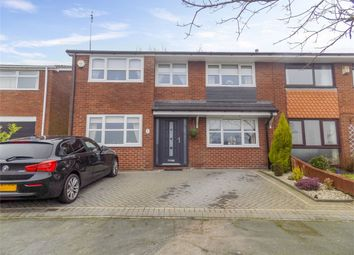 Thumbnail 3 bed semi-detached house for sale in Trevarrick Court, Horwich, Bolton, Lancashire