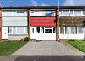 Thumbnail 3 bed terraced house for sale in Wolstenbury Road, Rustington, Littlehampton