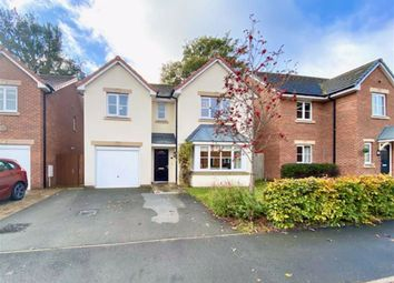 Thumbnail 4 bed detached house for sale in Llys Ambrose, Mold, Flintshire